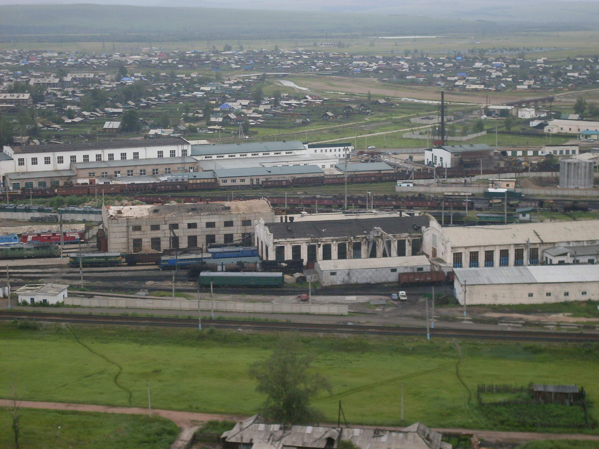 13 Chernyshevsk rail yard