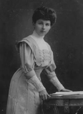 С.С. Матвеева. 1904 г.