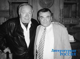 Встретились два художника – Александр  Сайбединов и Андрей Вознесенский