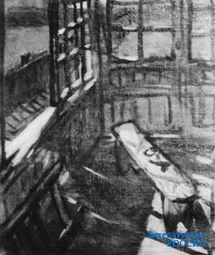 Э.М. БЕЛЮТИН. Малаховка. 1944 г.