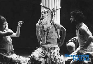 «Эдип-царь» Софокла. В постановке  театра «На Литейном» (СПб).