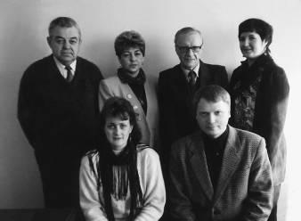 Леонид БОРОДИН с саранской интеллигенцией