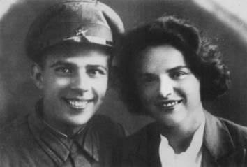 А.Н. Макаров и Н.Ф. Макарова. 1938 г.