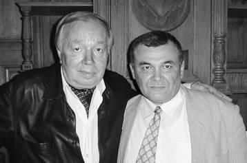 Два поэта: Андрей ВОЗНЕСЕНСКИЙ и Александр САЙБЕДИНОВ