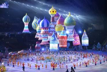 Олимпиада в Сочи. Открытие