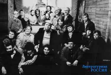 «Новая реальность». В центре Э.Белютин. Абрамцево, 1968 г.
