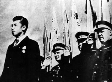 Митинг 14 октября 1945года, в Пхеньяне