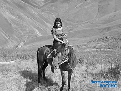 Гулла Хирачев на боевом коне