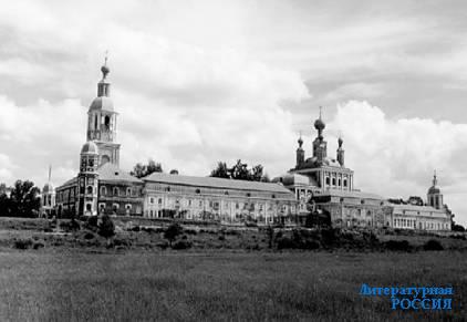 Санаксарский монастырь в республике Мордовия