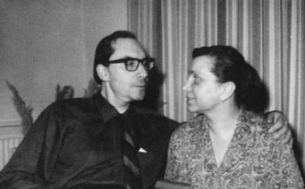 Аркадий и Наталья БЕЛИНКОВЫ, 1968 г.
