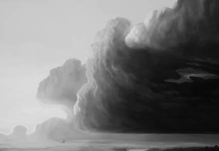 Картина Александра САЙБЕДИНОВА «Светает»