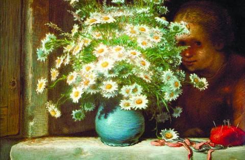 Жан-Франсуа Милле (1814–1875) «Букет ромашек»
