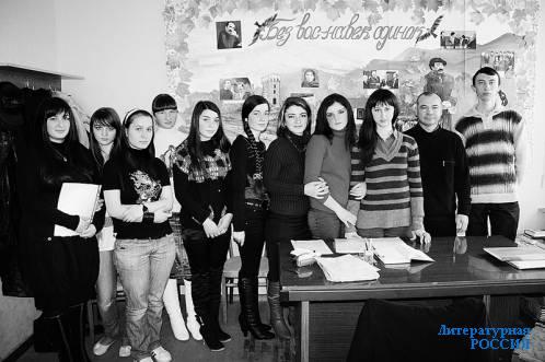 Алан Глашев и юные таланты балкарской литературы