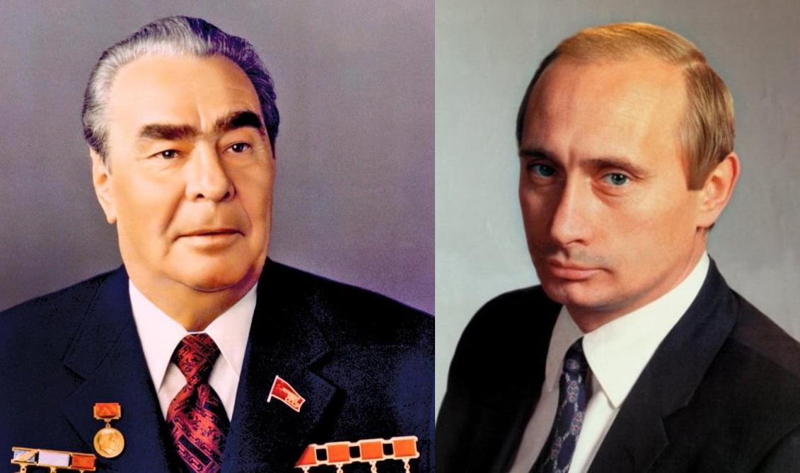 8 Brezhnev Putin