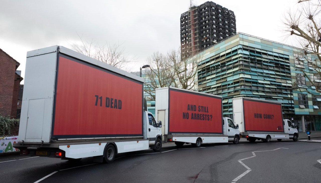 Billboards in London