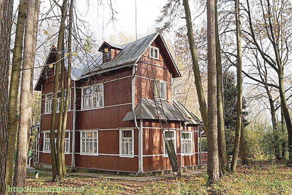 Дом Бориса Пастернака